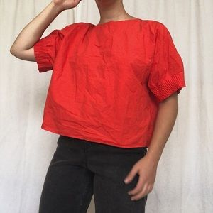 Zara | Rouched Blouse